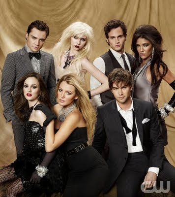 gossip girl group shot Spotted: Horrendous Hairstyles on Gossip Girl