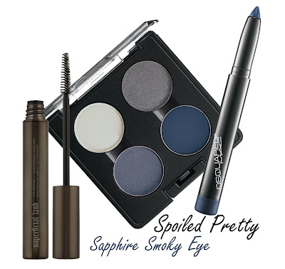sapphire+smoky+eye I've Got The Blues: Sapphire Smoky Eye