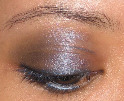 spoiled+pretty+saphire+smoky+eye I've Got The Blues: Sapphire Smoky Eye