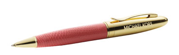 michael+kors+very+hollywood+pen The Write Stuff: Michael Kors Very Hollywood Signature Pen
