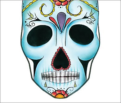 6 FrF DayOfTheDead MAC Halloween Face Charts 2009: Drop Undead Gorgeous