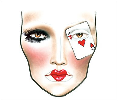 1 RRGaGaGGorgeous MAC Halloween Face Charts 2009: Drop Undead Gorgeous