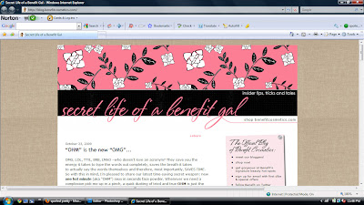 Benefit+Blog Benefits New Blog!
