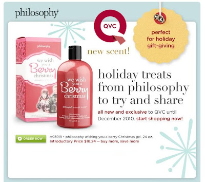 philosophy+at+qvc New Philosophy Gifts Only at QVC