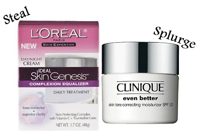 loreal+skin+genesis+complexion+equalizer+vs+clinique+even+better+moisturizer Drugstore Beauty Must Haves!
