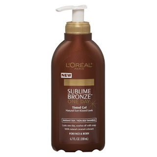 loreal+sublime+bronze+one+day+tinted+gel LOreal Sublime Bronze One Day Tinted Gel
