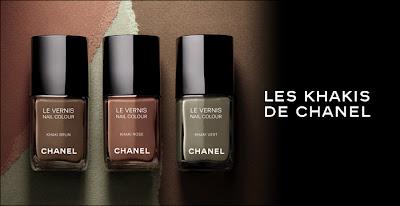 les+khakis+de+chanel+nail+polish Les Khakis De Chanel Nail Polish