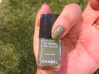 Les Khakis De Chanel Nail Polish