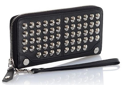 BE and D Large Garbo Stud Wallet Urban Expressions Axel Studded Wallet