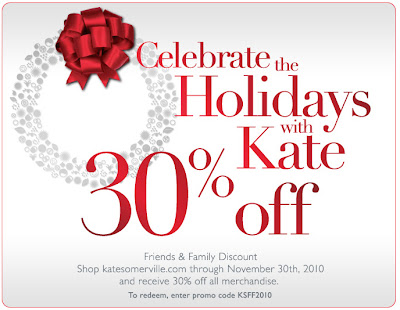 kate+somerville+friends+and+family+2010 Kate Somerville Friends & Family: Take 30% Off!