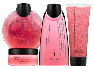 sephora pink grapefruit sorbet bath body collection send Holiday Deals & Steals at Sephora