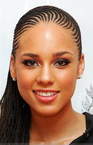 Alicia Keys Hairstyles. ALICIA KEYS