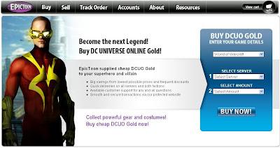 buy dcuo gold