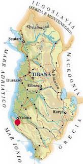 Il porto turistico di orikum in Albania