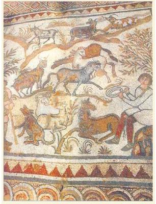 Il mosaico della Basilica di Arapaj (Albania)