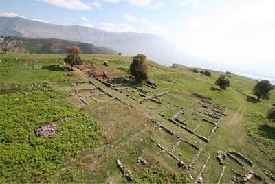 Antigonea , la città antica fondata da Pirro d'Epiro