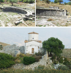 Parco arheologico a Orikum