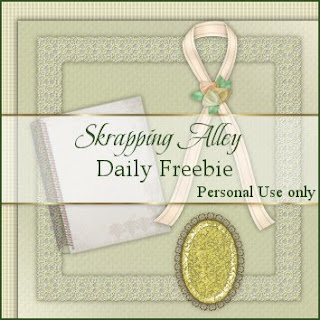 http://skrappingalley.blogspot.com/2009/10/daily-freebie-mini-kit-lemon-linen.html