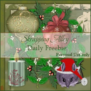 http://skrappingalley.blogspot.com/2009/10/daily-freebie-xmas-mouse-wreath-candle.html