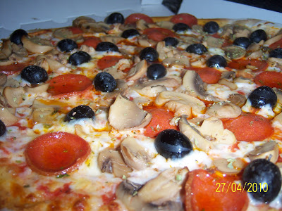 Pizzas al Estilo Voy Volando de Lorca