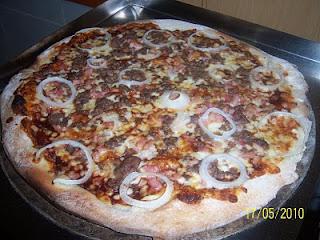 Pizza Barbacoa al Estilo Voy Volando
