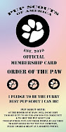 Proud Members of Pup Scouts of America