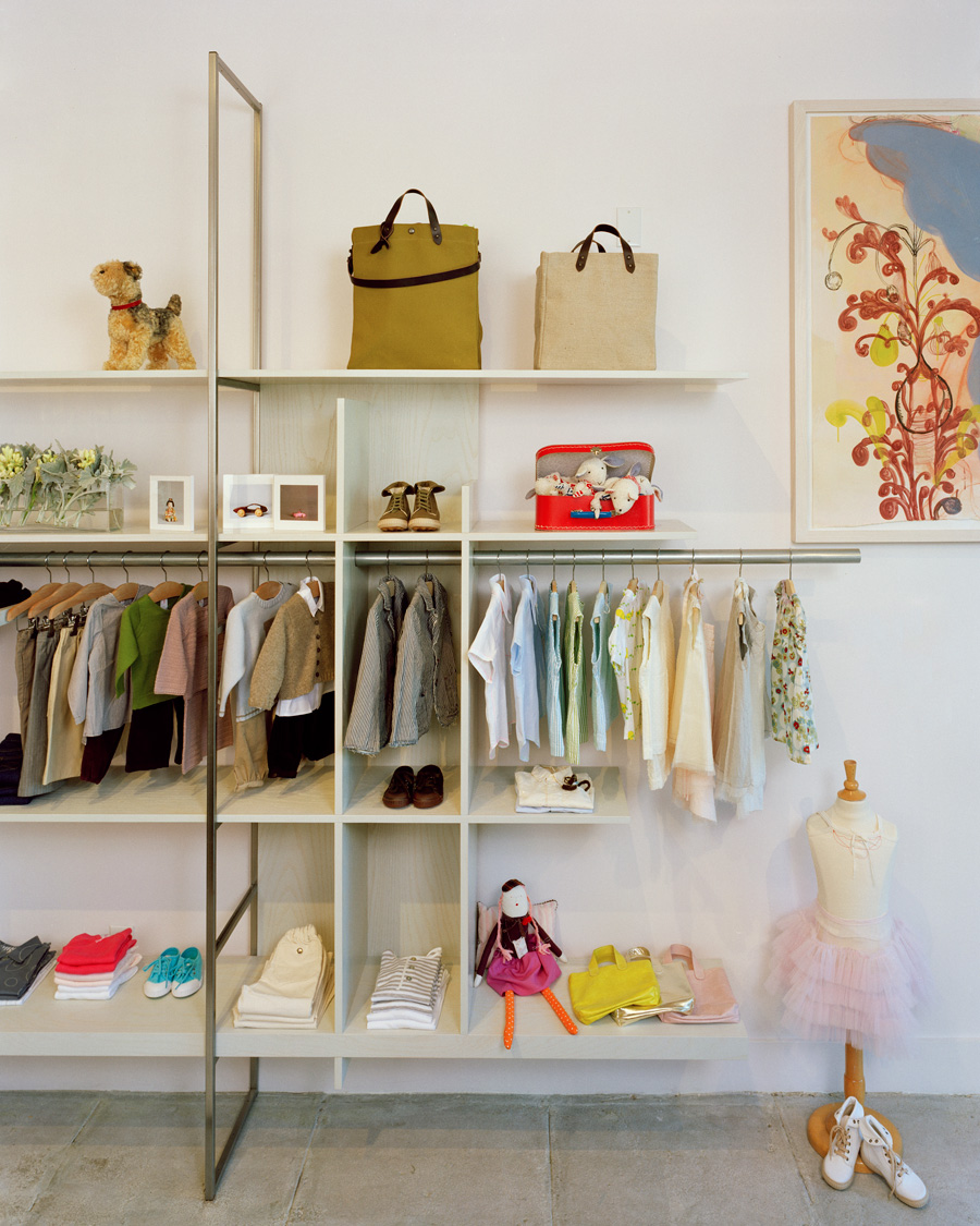 Retail Interior Design | Children Fashion Store,Milk | Oakland, California  By Nilus Designs