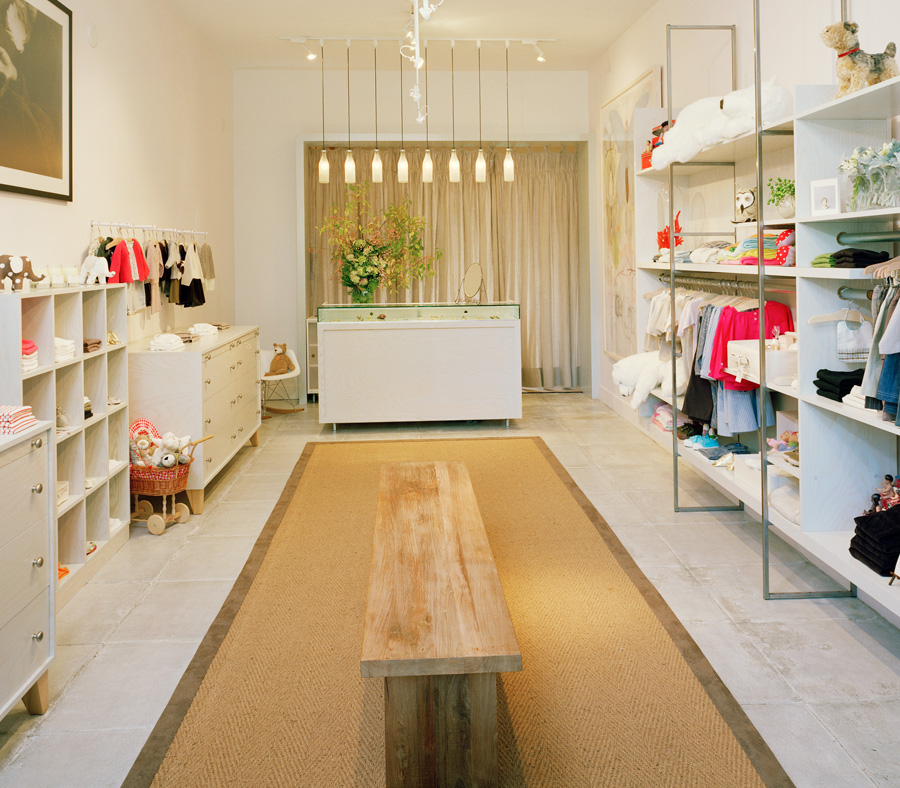 Imagine these retail interior design children fashion store milk oakland california by for Fashion retail interior design