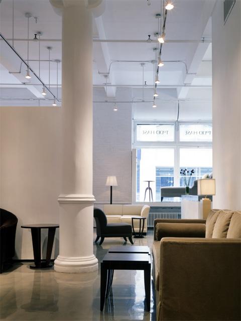 Interior Design Furniture New York City ~ Furniture showroom interior design soho new york city