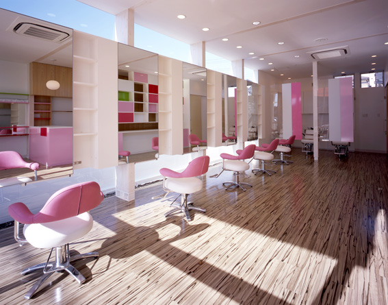 Imagine These: Salon Interior Design | Arp Hills Beauty Salon