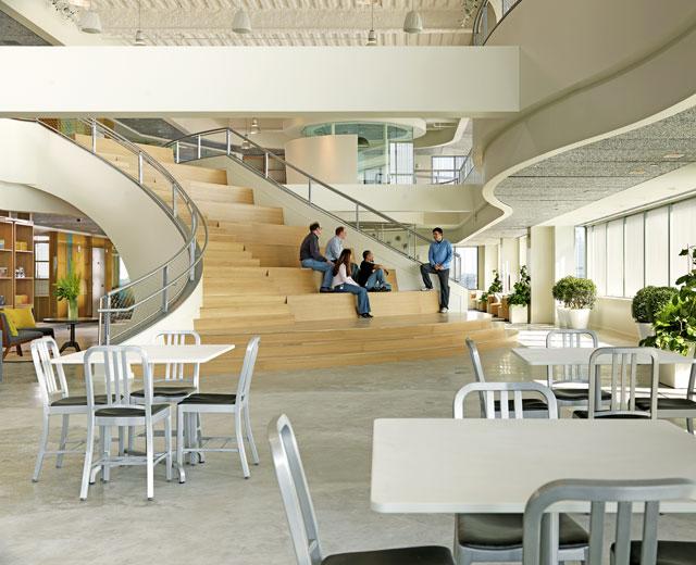 Office Interior Design   Microsoft Startup Labs   Massachusetts    TRO Jung Brannen   Best Modern World Interior