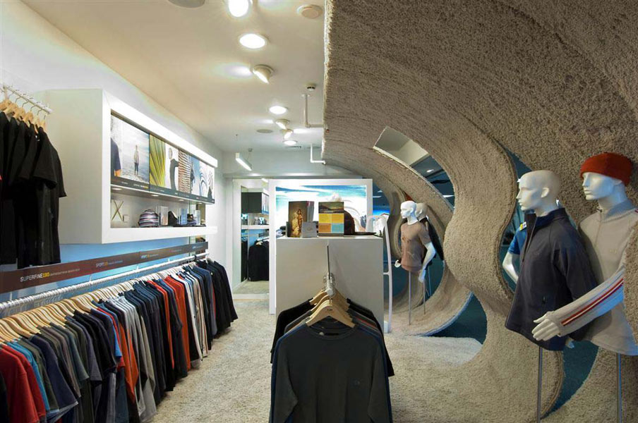 Retail Interior Icebreaker Touch Lab Wellington Parsonson - Fashionable-one-storey-house-by-parsonson-architects