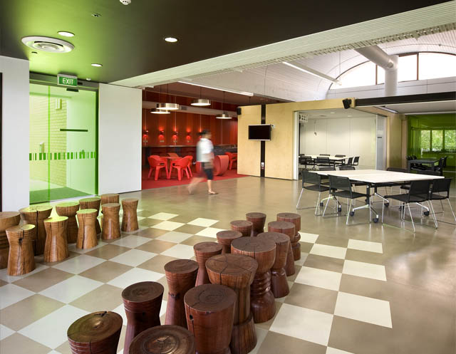 Educational Interior Design | University of South Australia Future Learning  Space | Woods Bagot