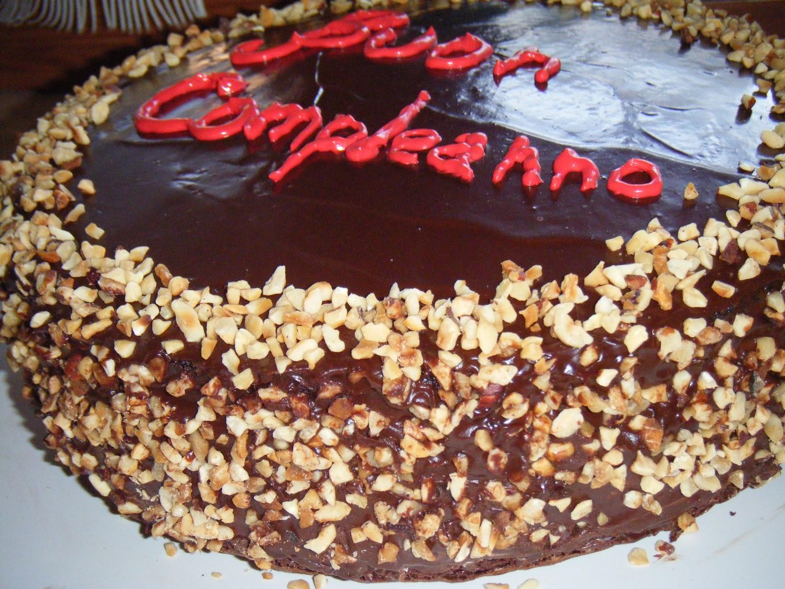 Eccezionale Marcella in cucina: Torta glassata al cioccolato con granella di  LD07