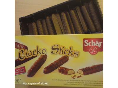 NEUES von Schär: Ciocko Sticks