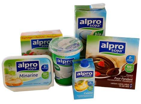 Alpro Soya Produkte: nicht nur laktosefrei, sondern auch glutenfrei!