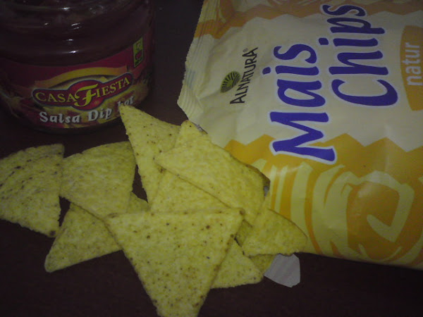 glutenfreie Tortilla Chips & Salsa
