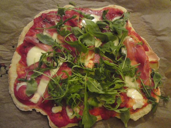 glutenfreie Parma/Ruccola PIZZA!!!!