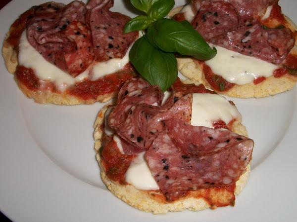 Mini Pizza-Teig von Bauckhof