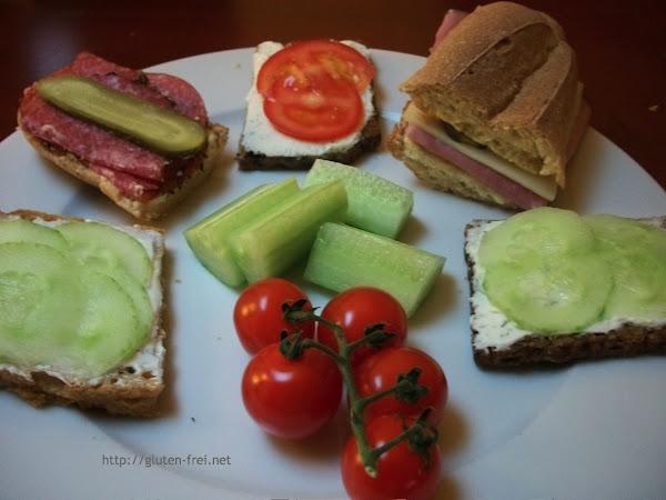 glutenfreie Schulbrote/Pausensnacks - Brotbox Gewinnspiel!