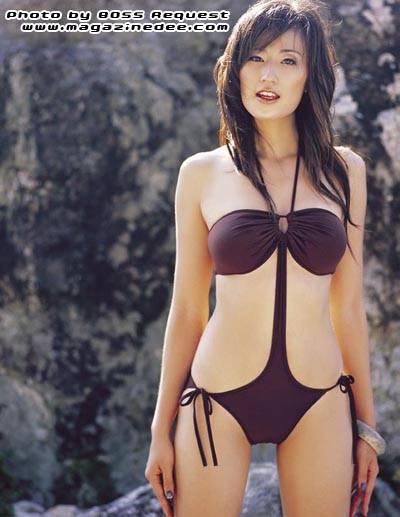 Rungrawee Brijindakul Thai Sexy Model