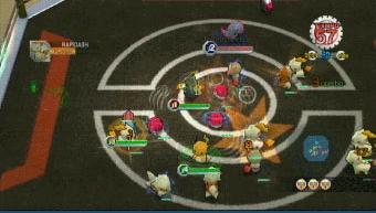 [EUR-PAL] Pokémon Rumble - WiiWare 1500 puntos (Jap: Melee! Pokemon Scramble) Rumble_captura_batalla