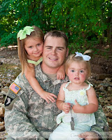 military theme family portrait