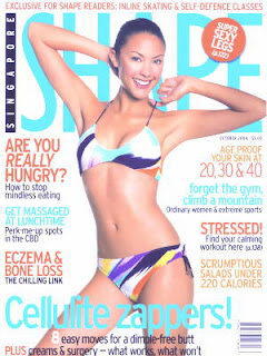 Jaymee Ong Shape Magazine Cover Picture