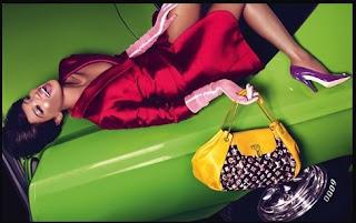 Naomi Campbell pour Louis Vuitton