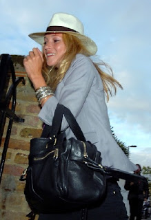 Kate moss Patent ring front bag