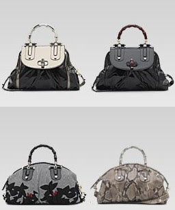 Gucci sac Bambou pop