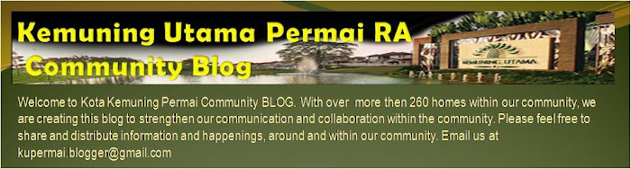 Kemuning Utama Permai RA Community Blog