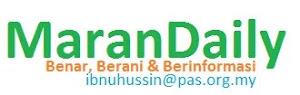 Maran Daily - Bila NoteBookKu Dibuka... Benar, Berani & Berinformasi