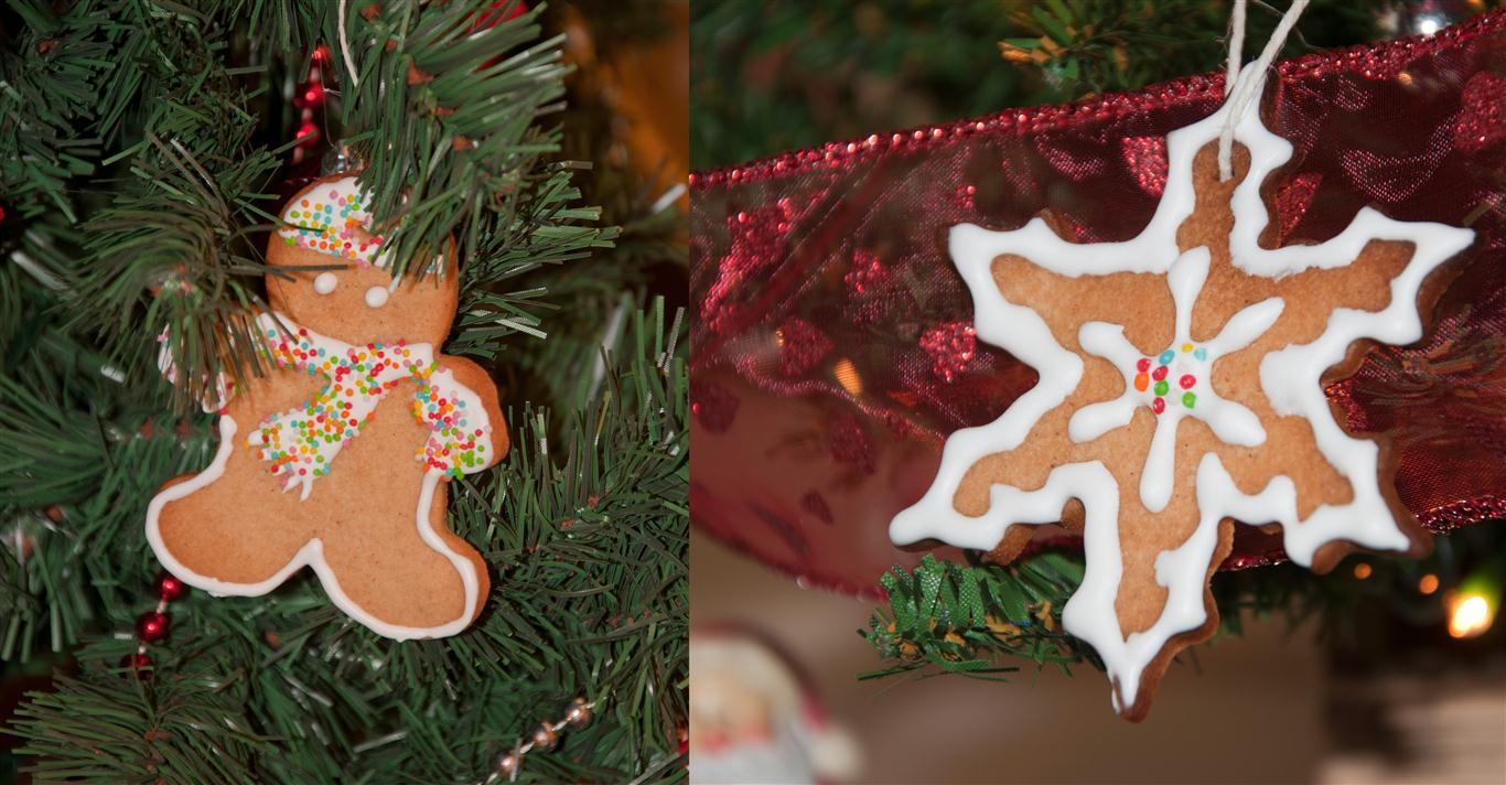 I biscotti alla glassa ... per l'albero di Natale